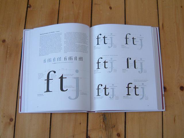»Anatomie der Buchstaben« Buch