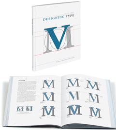 »Designing Type« Buch