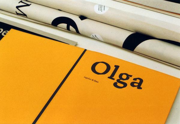 Olga: Eine schöne frische Type