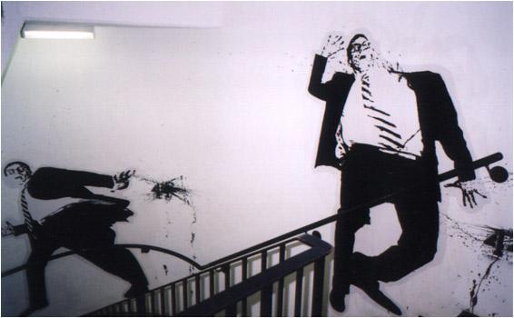 Gefahr im Treppenhaus