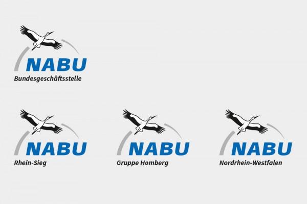 NABU Gruppenlogos neu